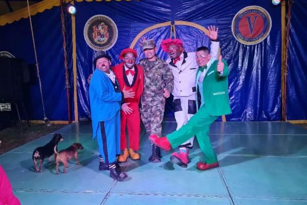 Circo Colombia llegó a Algeciras