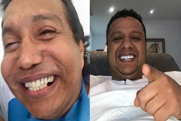 Rafael Santos confesó si diamantes de sus dientes son herencia de Diomedes