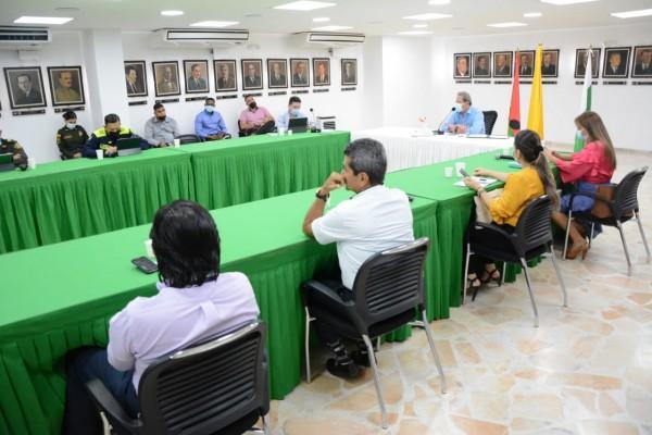 Analizan situación de orden público del Huila