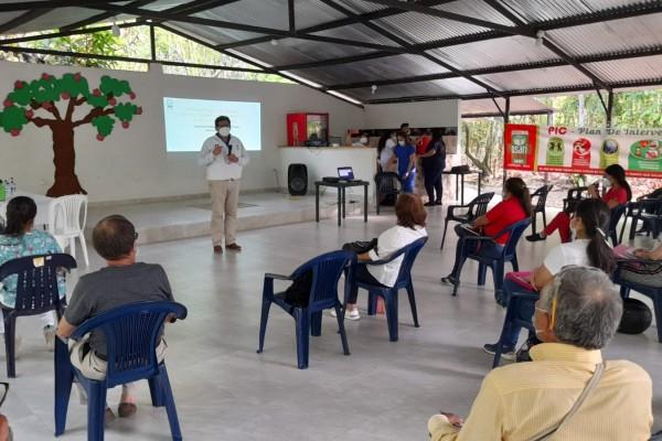 Primera Mesa de Trabajo Intersectorial en Campoalegre