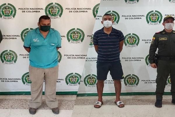 Cuatro hombres vinculados a homicidios fueron capturados
